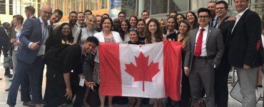 G20YEA Canadian delegation