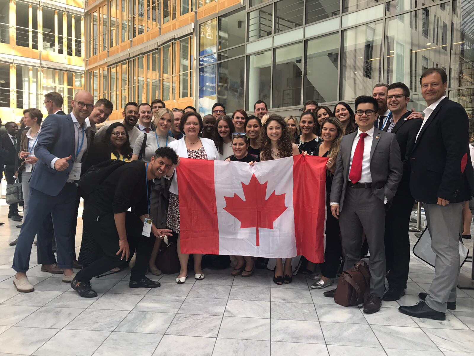G20YEA Canadian delegation