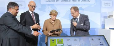 Merkel Industry 4.0 Germany BRIDGR