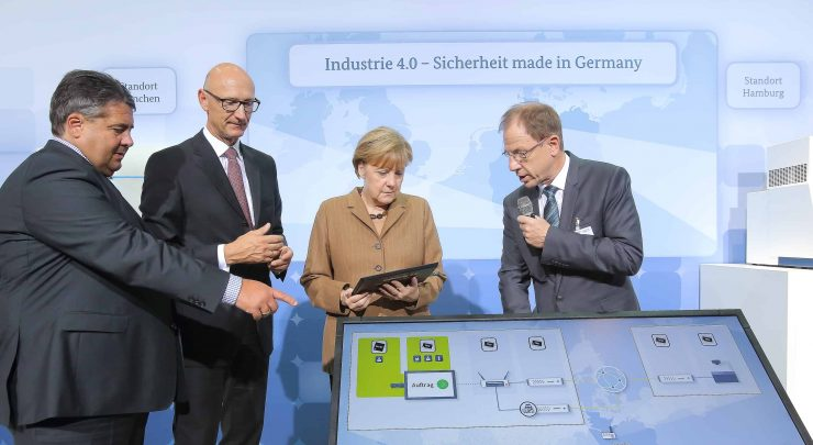 Merkel Industry 4.0 Germany BRIDGR