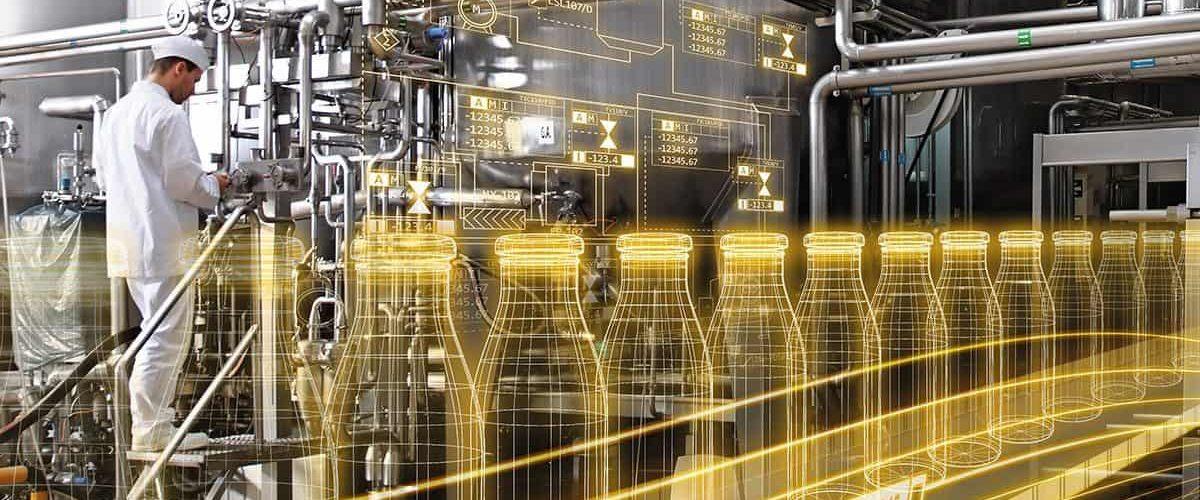 Copyright for siemens Food & Beverage industry 4.0 digitalization
