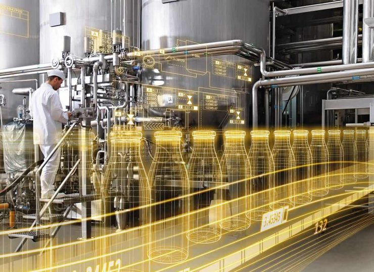 Copyright for siemens Food & Beverage industry 4.0 digitalization