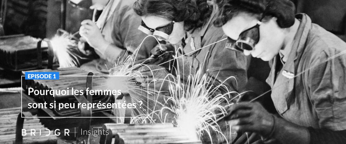 Pourquoi les femmes sont aussi peu représentées dans le secteur industriel ?