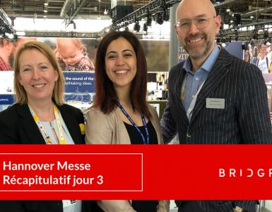 Hannover messe 2019 BRIDGR Bosch Fraunhofer IFF Huawei Quebec