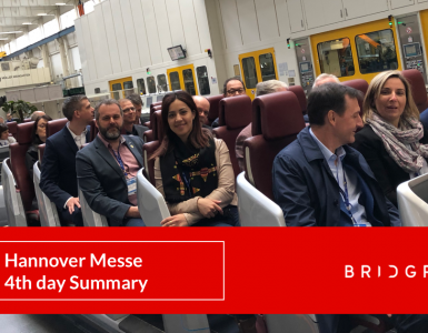 Hannover Messe 4th day recap summary BRIDGR